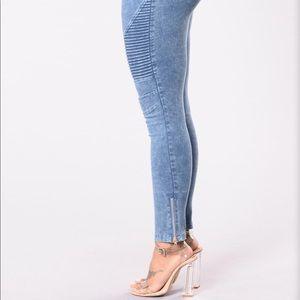 "Fashion Nova Pants - Fashion Nova ""Switching Up the Angles"" Jeggings"